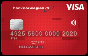Bank Norwegian luottokortti kokemuksia