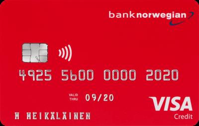 prepaid luottokortti visa