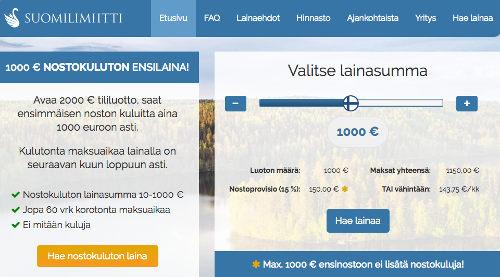 Suomilimiitti kokemuksia