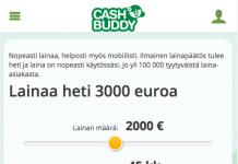 Cashbuddy kokemuksia