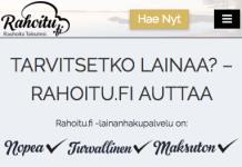 rahoitu.fi kokemuksia